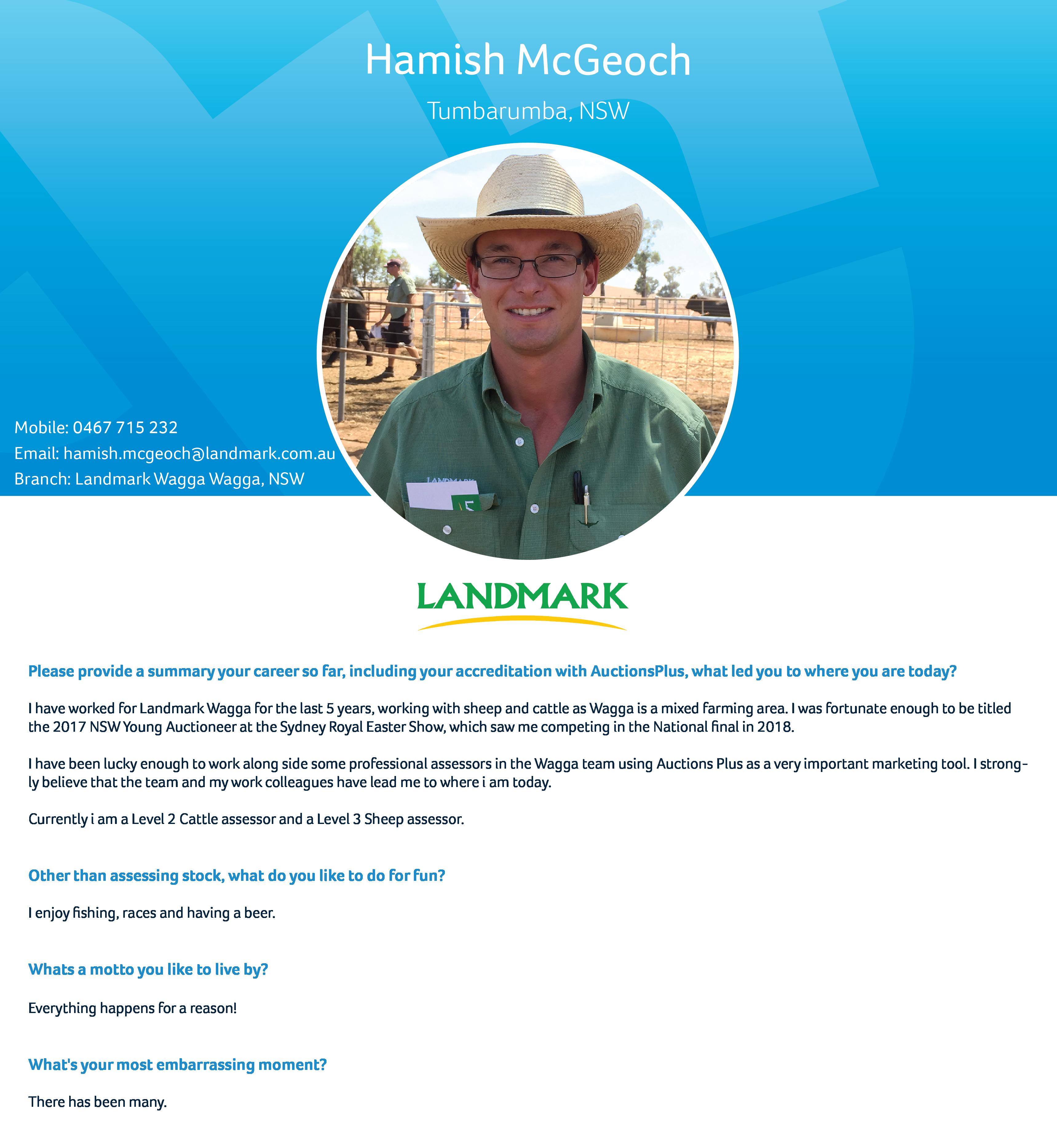 Hamish McGeoch